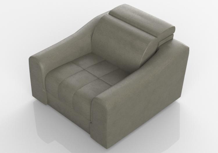 Divani 3d divano in pelle natuzzi attesa 2827 - Divano pelle natuzzi ...
