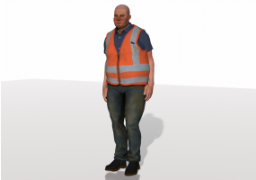 3D People - Frank