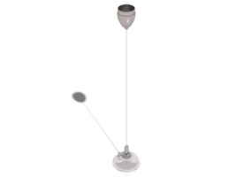 Lámpara colgante 3D - Lámpara 80cm – Lumina – Galileo Mini