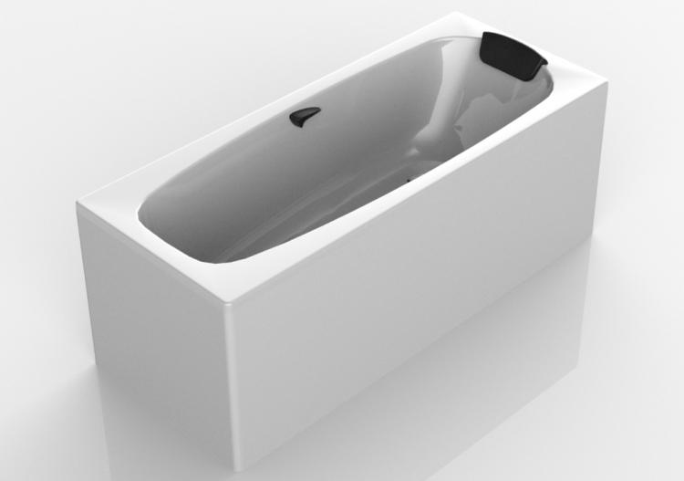 Dimensioni Vasche Da Bagno Rettangolari : Vasche da bagno 3d vasca da bagno rettangolare 170x70cm