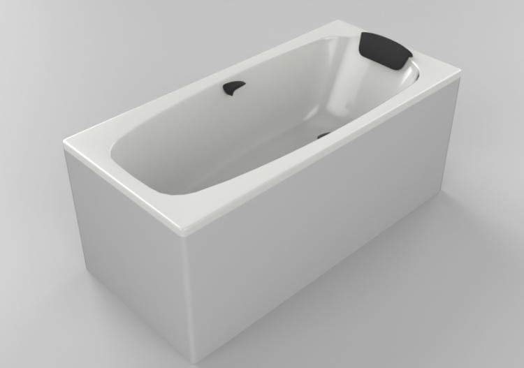 Vasche Da Bagno 3d Vasca Da Bagno Rettangolare 150x70cm