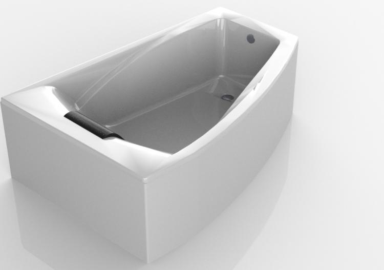 Vasche Da Bagno Angolari Asimmetriche : Vasche da bagno d vasca da bagno ad angolo cm