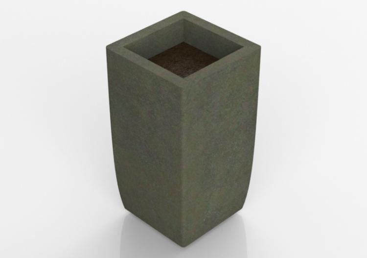 Fiori Bagnoli Irpino : Panchine 3d vaso per fiori e piante quadrato acca