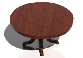 Tables 3D - Table circulaire 180x180cm
