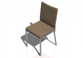 3D Chairs - Metal Chair