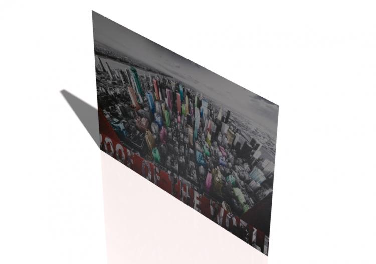 Quadri 3D - Quadro da salotto moderno - ACCA software