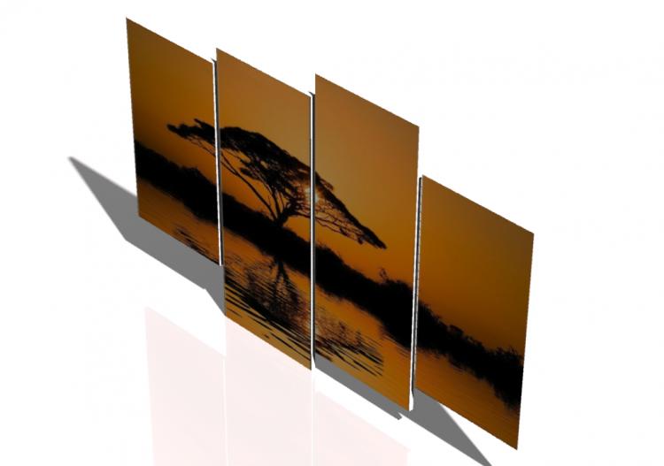 Tableaux 3d tableau moderne pour salon acca software for Tableau moderne pour salon
