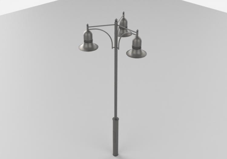 calle Farola Hobbyka tres lámparas de 3D Farolas con Jc1ulK3TF