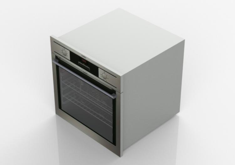 Elettrodomestici 3D - Forno per cucina 60x60cm. - ACCA...