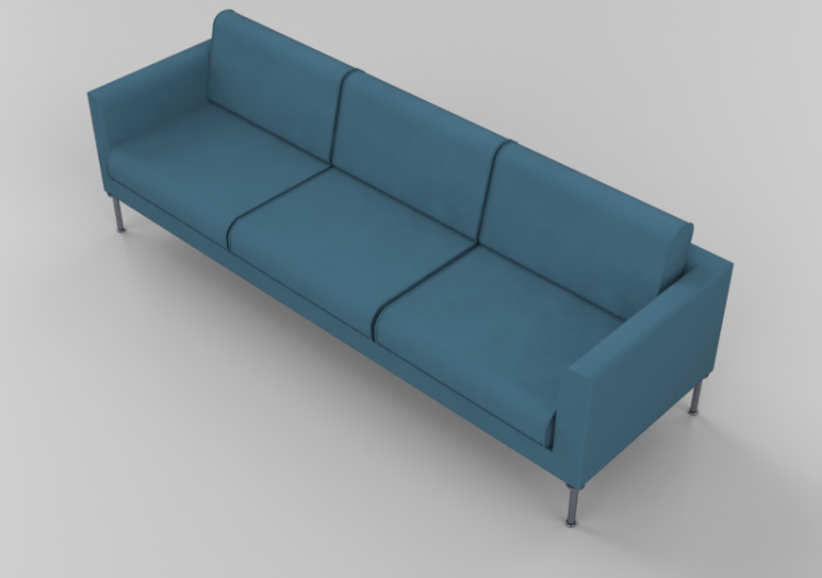 Leather Sofa Giulio Marelli Cubic
