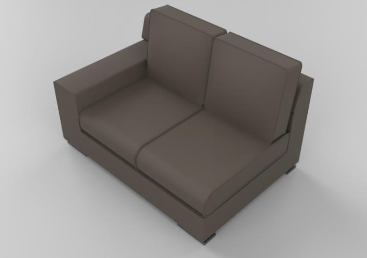 Chairs And Sofas 3d Leather Modular Sofa Giulio Marelli