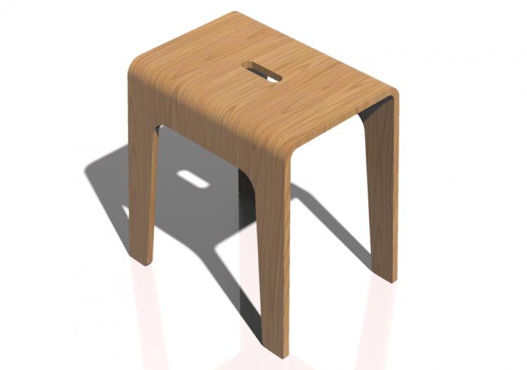 Sedie d sgabello basso in legno bla station u bimbo