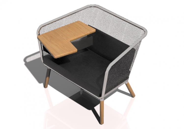 3d sessel und sofas sofa bla station honken o142. Black Bedroom Furniture Sets. Home Design Ideas