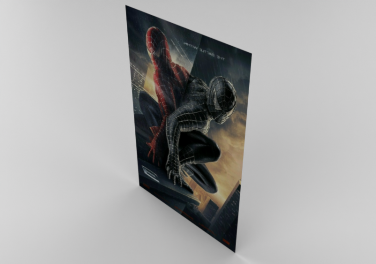 Stampe 3d poster spiderman acca software for Stampe da colorare spiderman