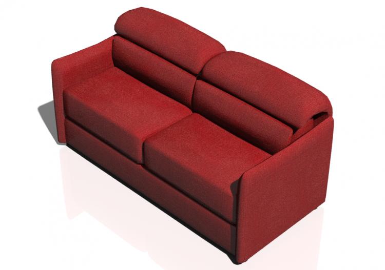 Divani 3d divano due posti natuzzi arioso 2898 for Divano due posti