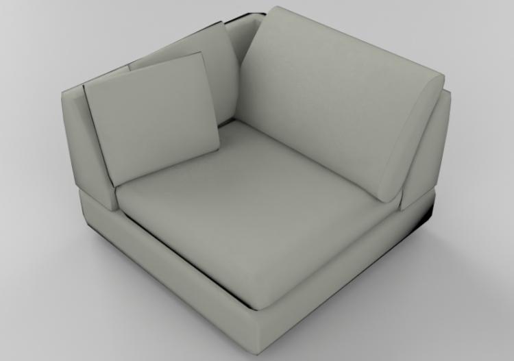 Sofa Natuzzi Diagonal 2375