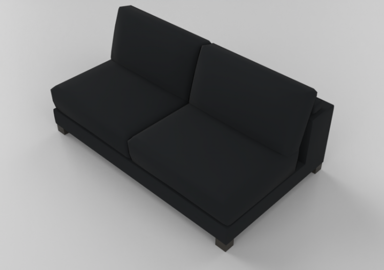 Chairs and Sofas 3D - Two seater sofa - Natuzzi - Domino -...