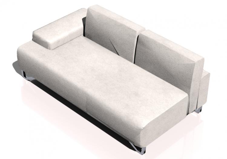 3D Sessel und Sofas - Sofa 2-Sitzer - Natuzzi - Fly - 2563...