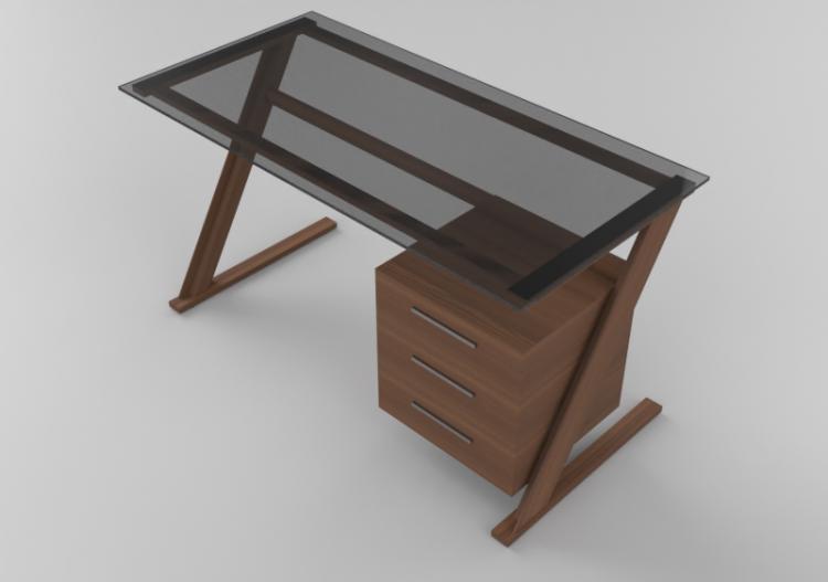 3d Desks Wooden Desk Acca