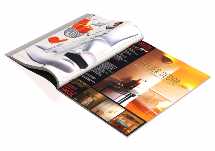 Books and magazines 3d magazine acca software for Riviste arredamento on line gratis