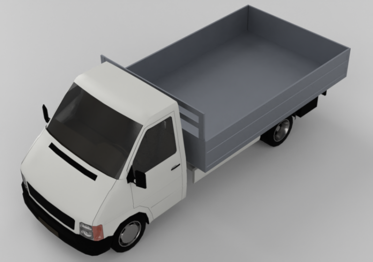 Trucks and Buses 3D - Box van - ACCA software