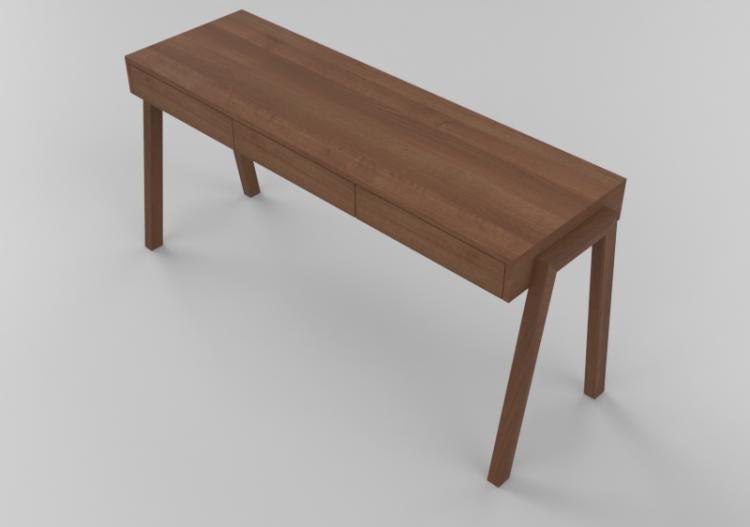 3d Desks Wooden Desk Sierra 26828