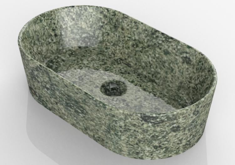 Globo Waschbecken waschbecken waschbecken 60x35 cm globo le pietre