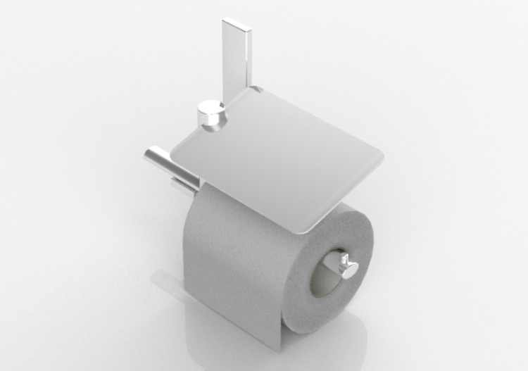 Toilet Paper Holder : D accessories toilet paper holder riva acca software