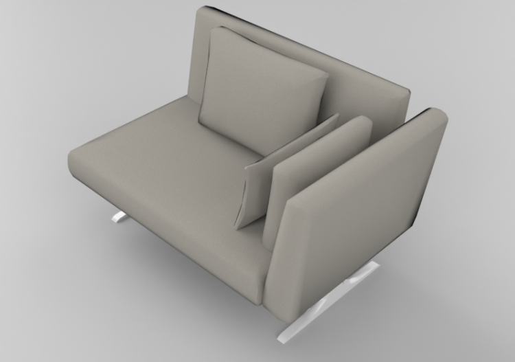 Two Seater Sofa Sierra 29007 2d