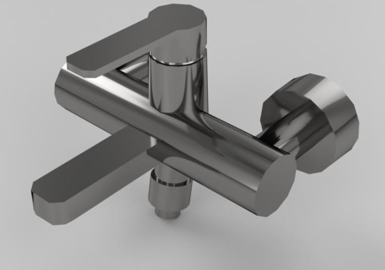 Doccia Vasca Ideal Standard.Rubinetti 3d Miscelatore Esterno Per Vasca Doccia Ideal