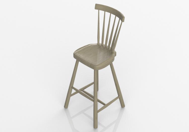 Sedie d sedia per bambini in massello di betulla