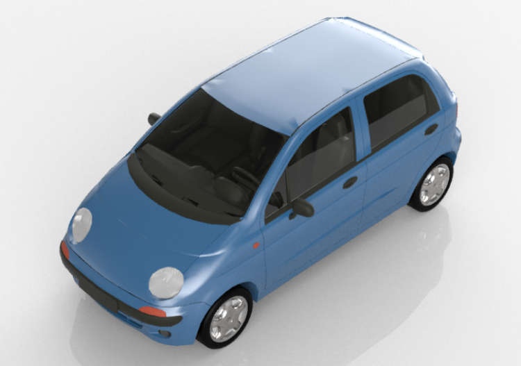 3D Cars - Daewoo Matiz - ACCA