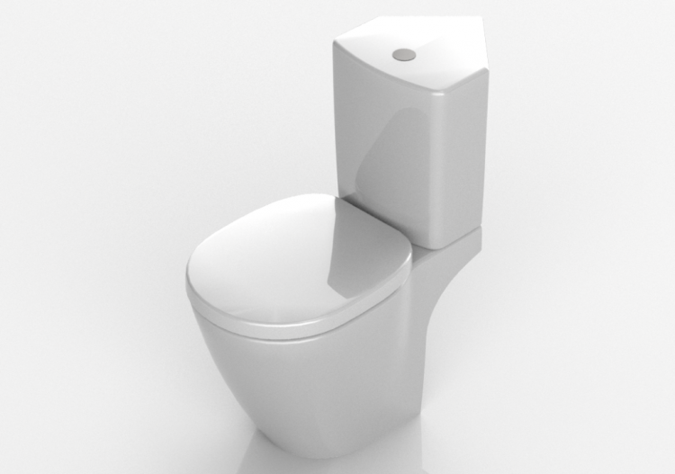 Ideal Standard Toilet : 3d vases floor mounted toilet bowl ideal standard