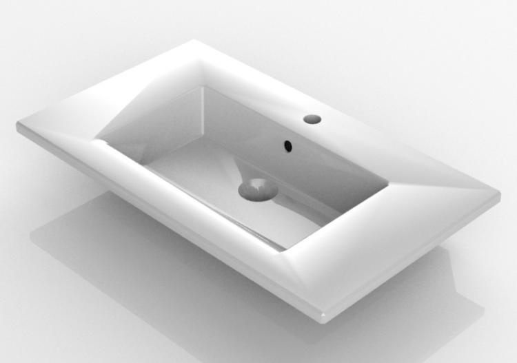 Lavabi 3D - Lavabo ad incasso - Svedbergs - 2008 - ACCA...