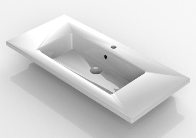 Lavabi 3D - Lavabo ad incasso - Svedbergs - 2010 - ACCA...