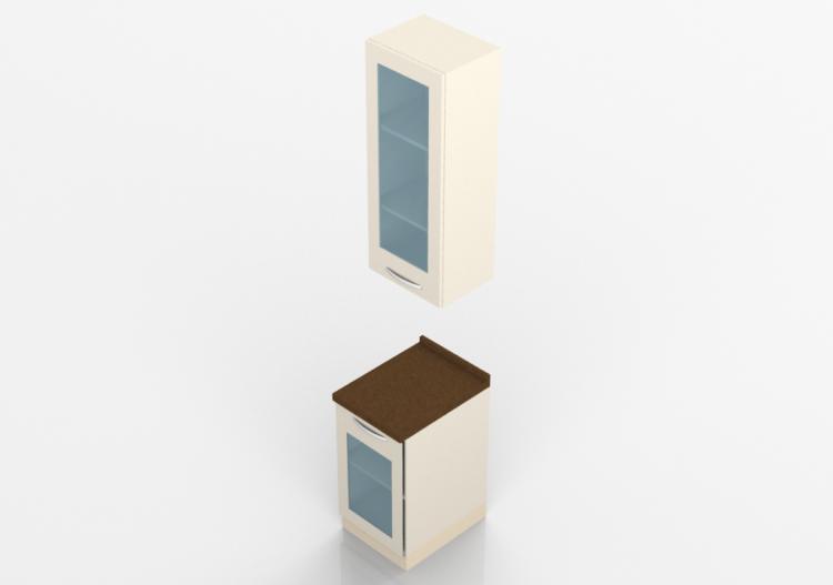 Cucine 3d blocco lineare 45 x 270 acca software - Software cucine 3d ...