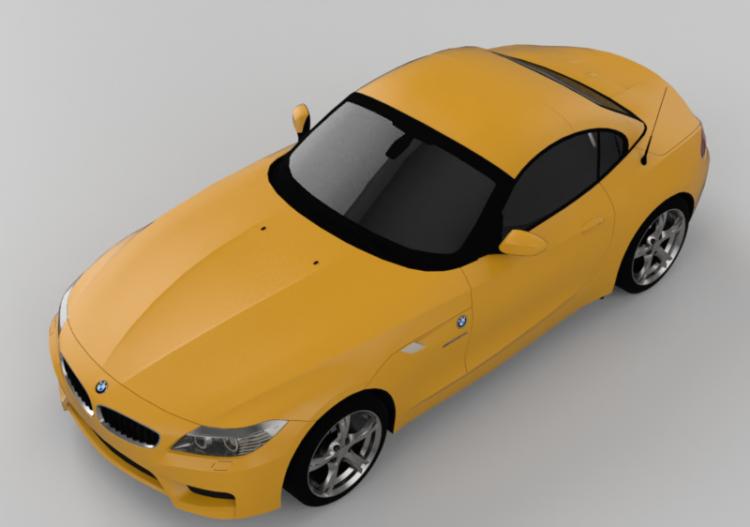3d Autos Bmw Z4 M Coupé Jahr 2012 Acca Software