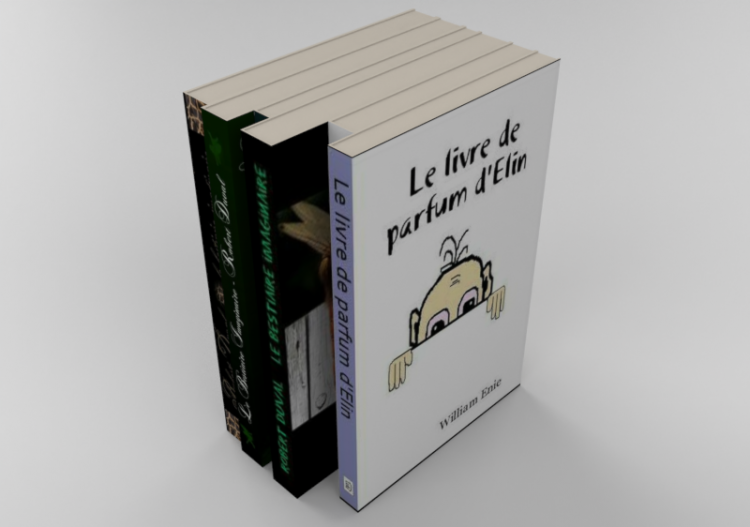 Books and Magazines 3D - Book collection - ACCA software