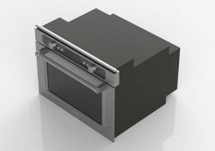 3D Haushaltgeräte - Forno a microonde da incasso -...