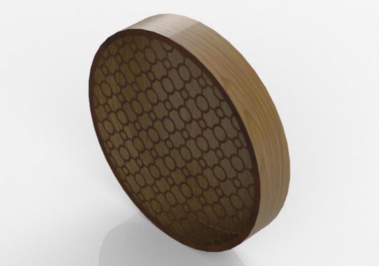 Plafoniere Da Parete In Legno : Applique lampada da parete bracci in legno tortora shabby chic