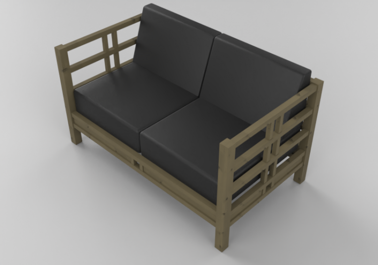 Solid Wood Sofa Thos Moser