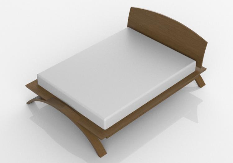 Letti In Legno Massello : Letti d letto in legno massello thos moser acca