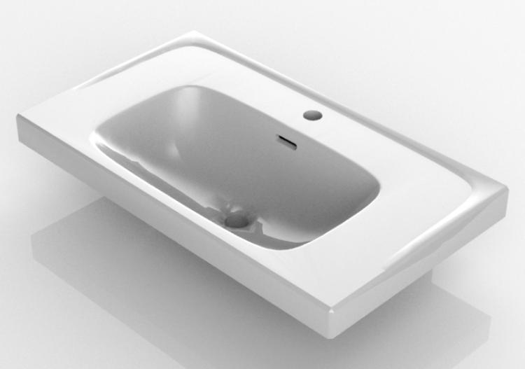 Lavabi A Incasso Dimensioni.3d Sinks Lavabo Ad Incasso Svedbergs 6080 Acca