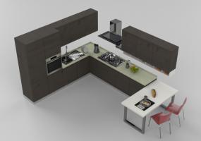 MODELLI 3D - ARREDO CUCINA - ACCA software