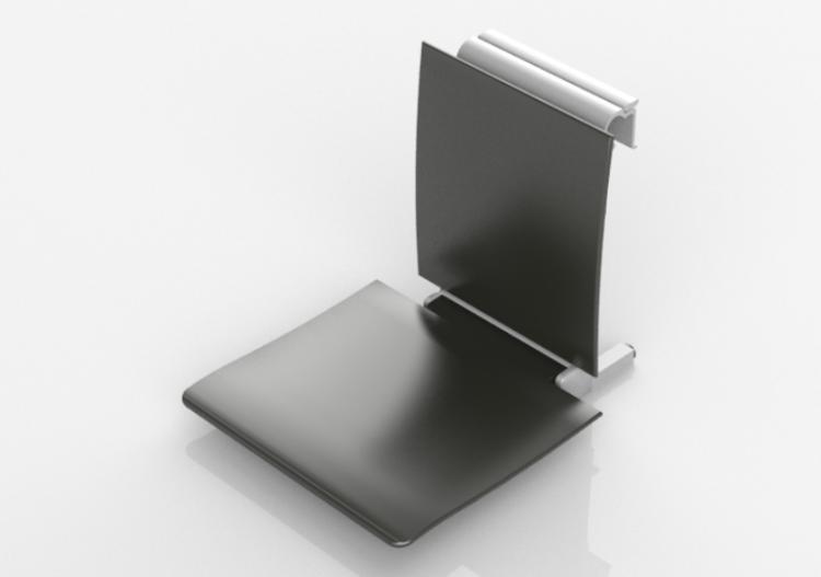 Sedile Per Doccia : Accessori 3d sedile rimovibile per doccia hewi