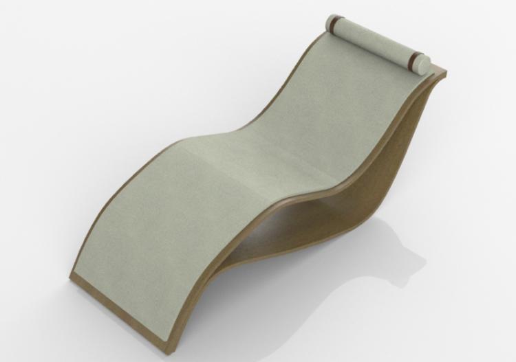 Sedia A Sdraio In Legno : Sedie 3d sdraio in legno schuster su acca software