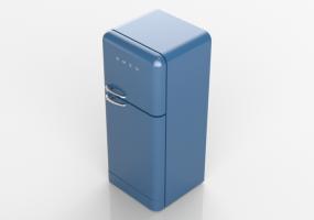 Smeg Kühlschrank Hellblau : Smeg kühlschrank retro rot charlotte adger