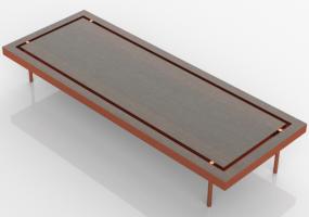 Tavoli 3D - Tavolo in legno - Artzzi - Frame