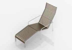 Sedia A Sdraio In Legno : Sdraio 3d sdraio e lettini acca software
