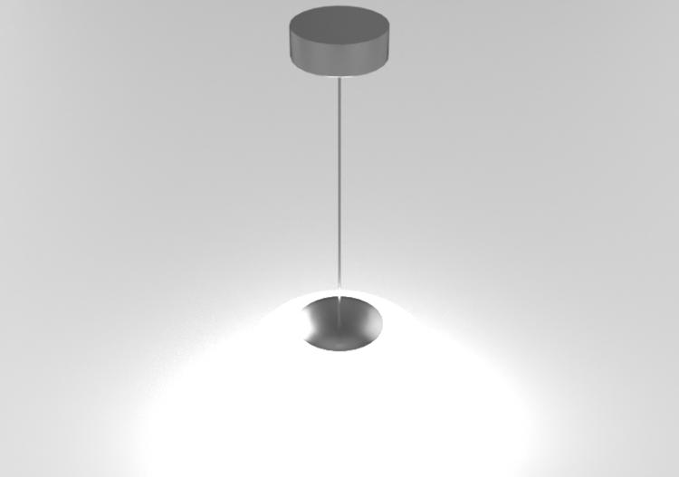 Lámpara suspensión colgante de Lámpara – Panzeri 3D tohrsBCQdx
